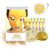 신세계인터넷면세점-린제이-Face Masks & Treatments-골드 매직 트레이 1박스 (모델링팩-5EA)