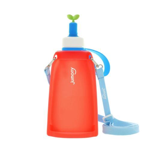 [思利满]儿童硅胶水瓶300ml(红色)