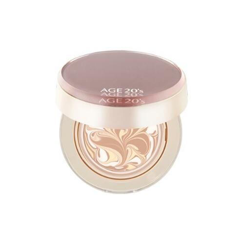 韩际新世界网上免税店-AGE20S--PERFECT GLASS ESSENCE COVER PACT 气垫霜 23号 12.5g X 2 ea