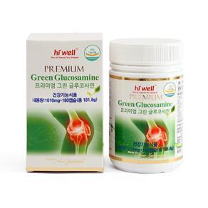 [유통기한2022-03]Green Glucosamin 5500, 180 capsules
