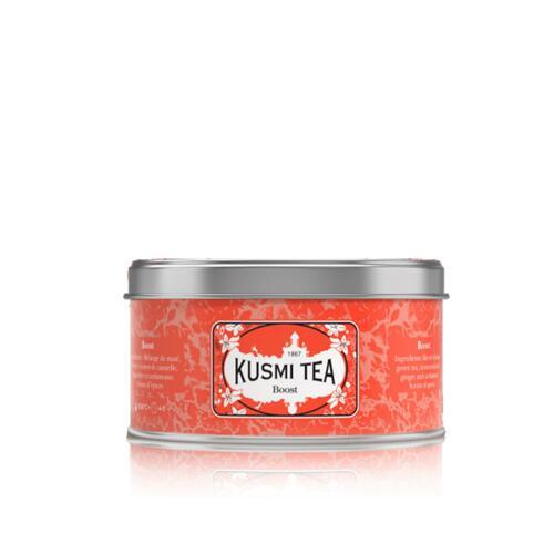 韩际新世界网上免税店-KUSMI TEA-TEA-BOOST - METAL TIN 125g 茶