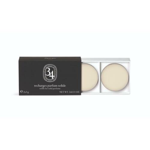 韩际新世界网上免税店-蒂普提克--Refill SOLID PERFUME - 34B 固体香水替换装2件