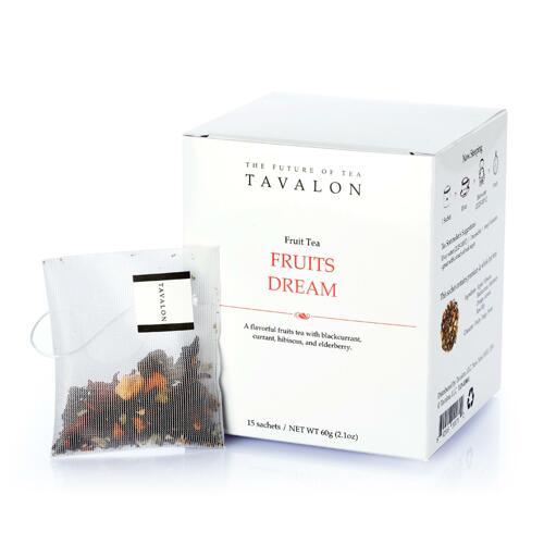韩际新世界网上免税店-TAVALON-TEA-FRUITS DREAM 水果茶 15包