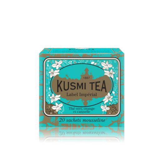 韩际新世界网上免税店-KUSMI TEA-TEA-IMPERIAL LABEL - BOX OF 20 MUSLIN TEA BAGS - 44g 茶