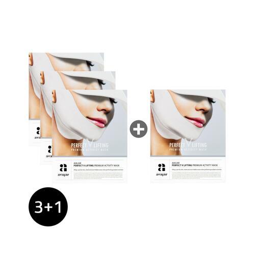 신세계인터넷면세점-에이바자르-Face Masks & Treatments-퍼펙트 V리프팅 프리미엄 액티비티 마스크 3+1