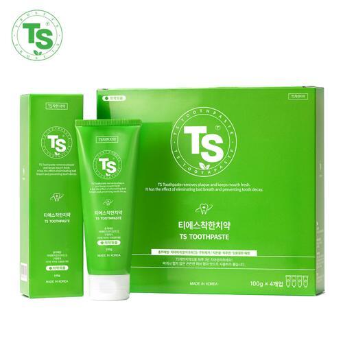 韩际新世界网上免税店-TS SHAMPOO--牙膏 100g*4EA