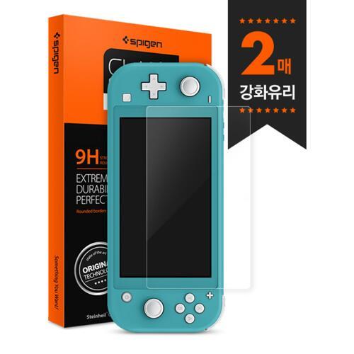 韩际新世界网上免税店-SPIGEN-SMART DEVICE ACC-Nintendo Switch Light 强化玻璃 GlastRslim 液晶保护膜
