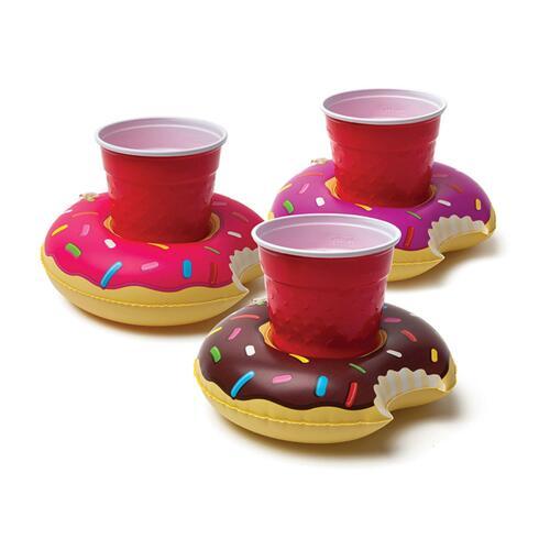 韩际新世界网上免税店-BIG MOUTH-运动休闲-frosted donut beverage boats 充气饮料杯托