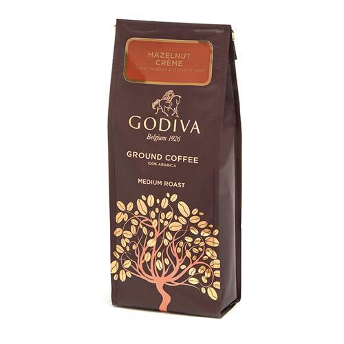 韩际新世界网上免税店-歌帝梵-COFFEE-Hazelnut Creme Flavoured Coffee 284g 巧克力