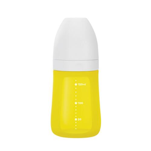 신세계인터넷면세점-실리만-BABY FEEDING-실리콘 젖병 160ml(옐로우)