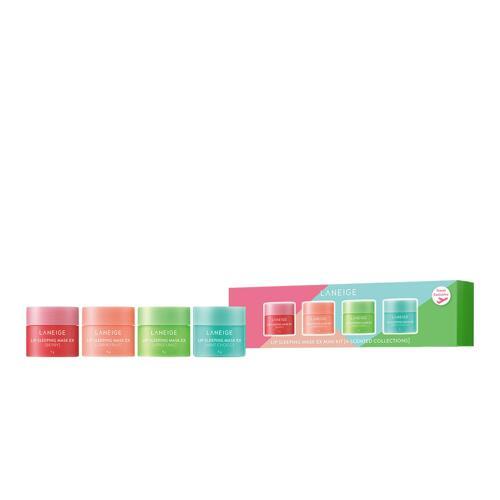 韩际新世界网上免税店-兰芝--保湿修护唇膜 8g 4件迷你套装