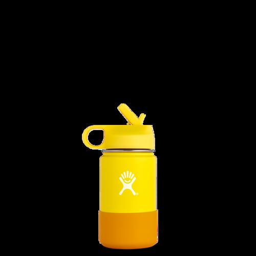韩际新世界网上免税店-HYDRO FLASK-CUP_MUG-Kids Wide Mouth 12oz (354ml) Lemon 保温瓶