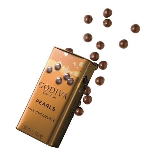 韩际新世界网上免税店-歌帝梵-CHOCOLATE_SWEETS-Milk Chocolate Pearls 43g 巧克力