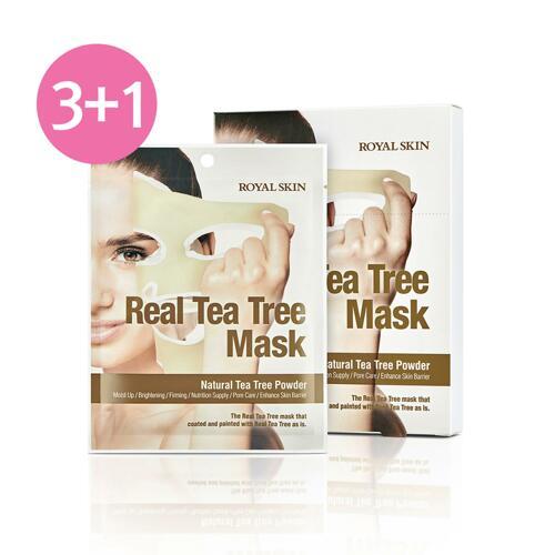 ROYAL SKIN REAL TEA TREE MASK 面膜 3+1