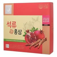 韩际新世界网上免税店-HONGSAMGA KUNBO-GINSENG-石榴&红参 10g*30包