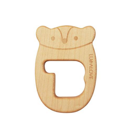 신세계인터넷면세점-룰라러브-PACIFIER-LULLALOVE Teething Wood MR.B