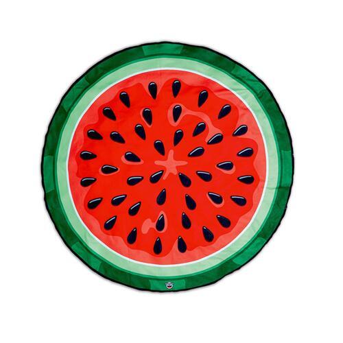 韩际新世界网上免税店-BIG MOUTH-运动休闲-gigantic watermelon beach blanket  沙滩毯