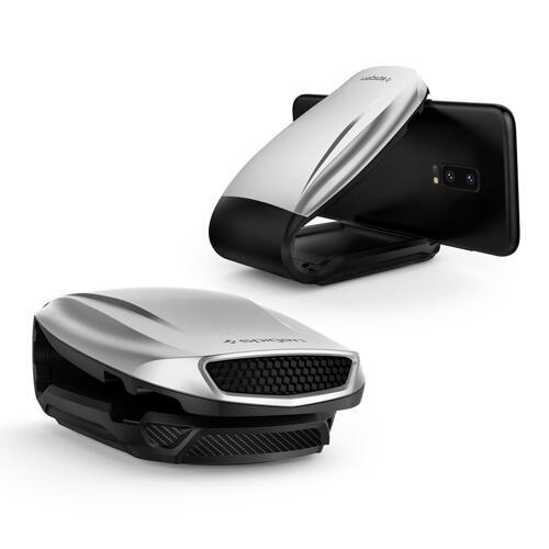 韩际新世界网上免税店-SPIGEN-SMART DEVICE ACC-Turbulence 车辆用手机支架 Iridium Silver