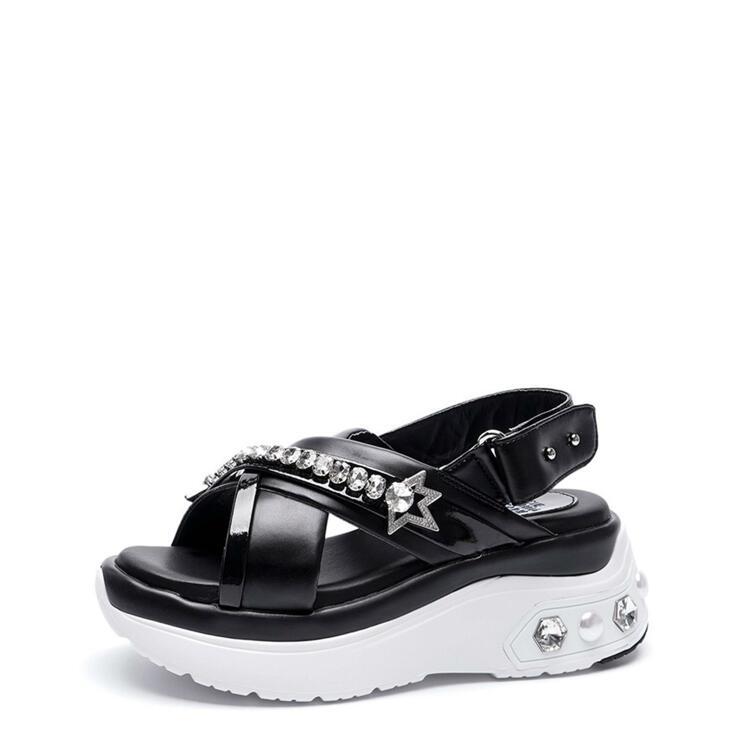 韩际新世界网上免税店-suecommabonnie-鞋-DG2AM21023BLK 375 (245)