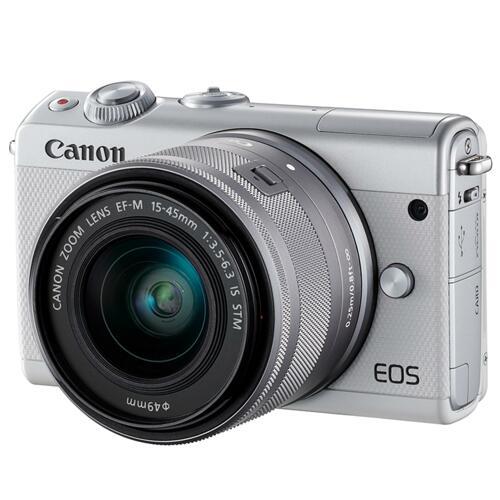 韩际新世界网上免税店-佳能-COMPACT CAMERA-EOS M100 15-45mm KIT 数码相机