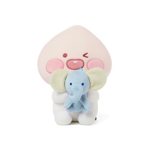 韩际新世界网上免税店-KAKAOFRIENDS-TOYS-BABY DREAMING LOVELY PLUSH TOY 玩偶 APEACH
