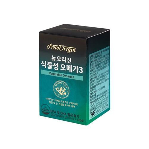 韩际新世界网上免税店-NewOrigin-SUPPLEMENTS ETC-VEGETABLE OMEGA3+ 欧米茄套装