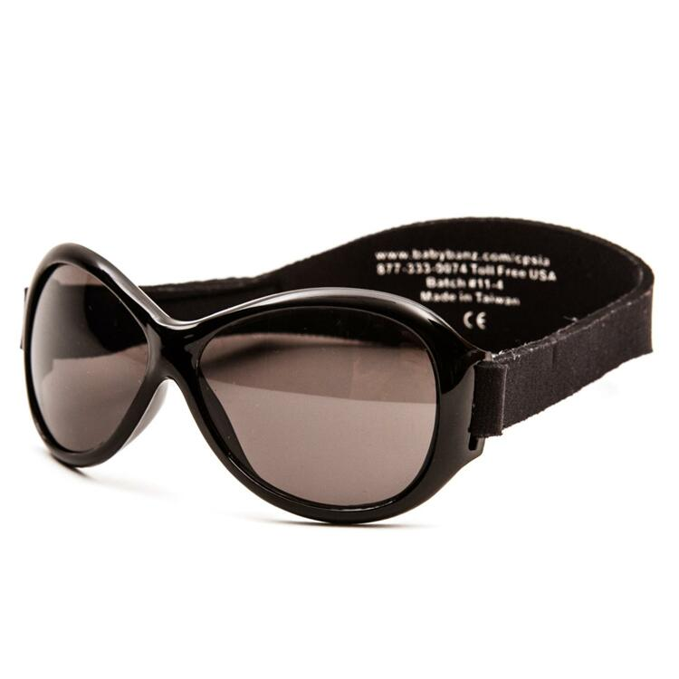 韩际新世界网上免税店-BABY BANZ-太阳镜眼镜-Retro Banz Black (KIDS)