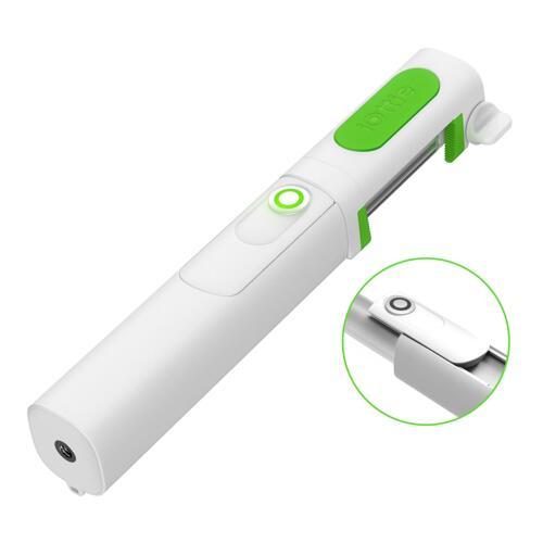 韩际新世界网上免税店-iOttie-SELFIE STICK-Migo Mini Bluetooth Selfie Stick White 自拍杆
