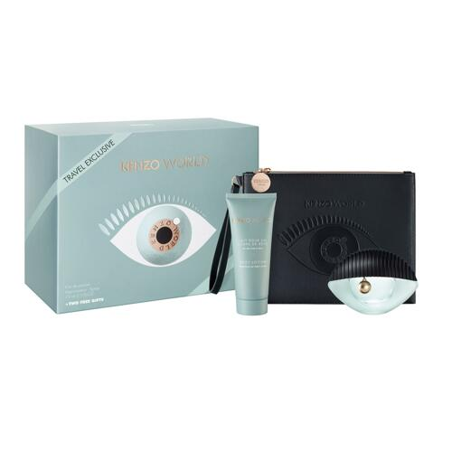 韩际新世界网上免税店-凯卓(COS)--KENZO WORLD EDP 75ML TR 19 女士香水套装