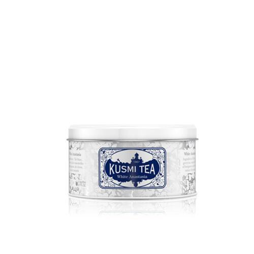 韩际新世界网上免税店-KUSMI TEA-TEA-WHITE ANASTASIA - METAL TIN 90g 茶