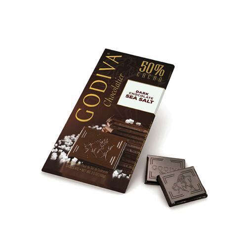 韩际新世界网上免税店-歌帝梵-CHOCOLATE_SWEETS-Dark Sea Salt Tablet 100g 巧克力