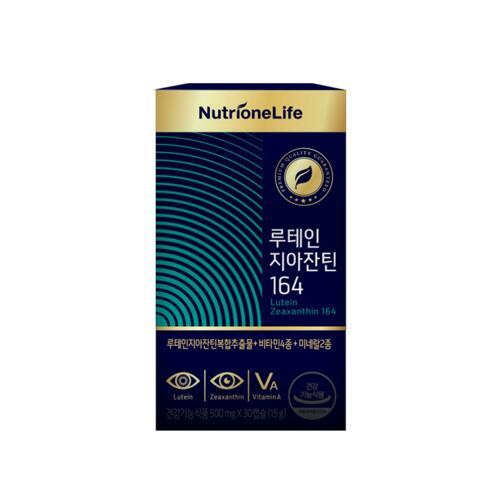 NUTRIONE LUTEIN ZEAXANTHIN 164 护眼胶囊 (含有叶黄素和玉米黄质 )