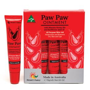 [유통기한2022-03]Paw Paw Ointment 15g x 5