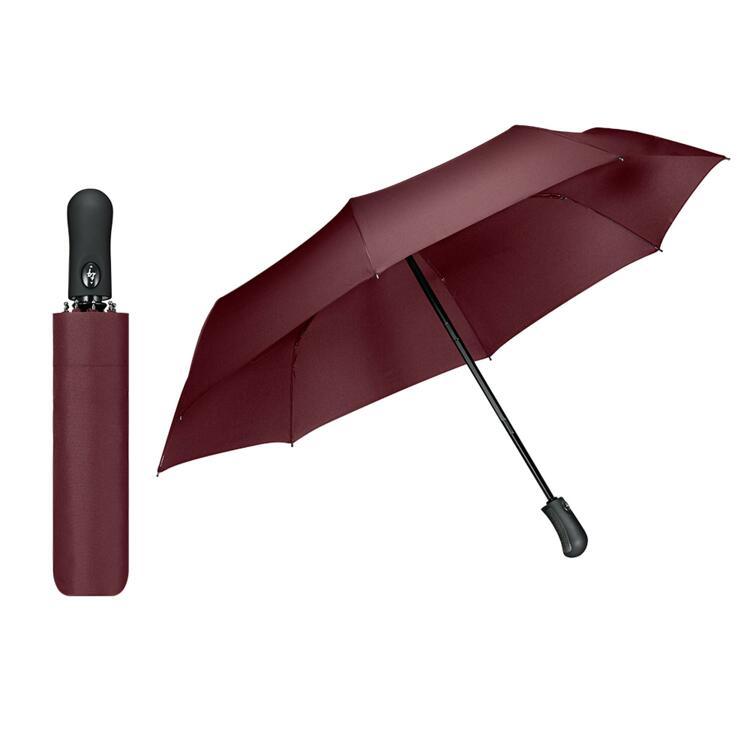 韩际新世界网上免税店-SPIGEN-时尚配饰-3段自动折叠雨伞 H100 Wine Red