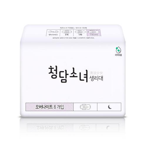 韩际新世界网上免税店-CHUNGDAM SONYEO--卫生巾套装 [超长夜用4包]