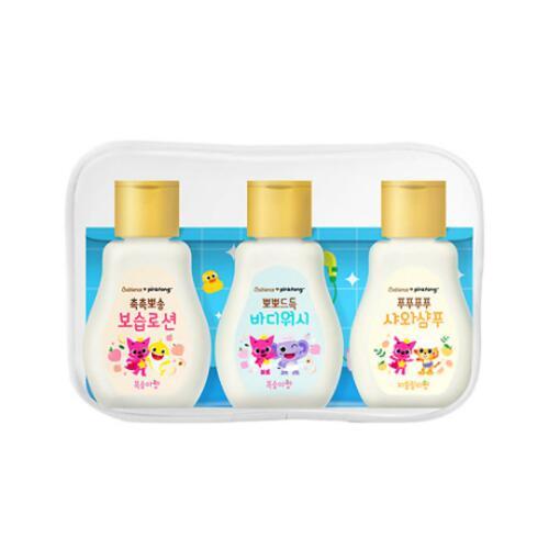 韩际新世界网上免税店-CHARACTER WORLD--PINKFONG TRAVEL SET 儿童护肤旅行套装