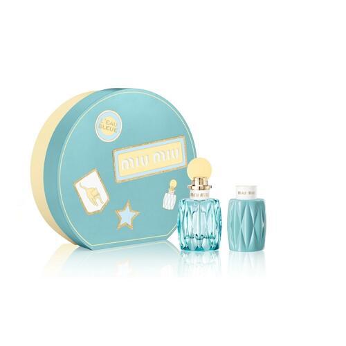 韩际新世界网上免税店-缪缪(香水)--Xmas Set (Leau Bleue Eau de Parfum 100ml + Signature Eau de Parfum Body Lotion100ml ) 套装