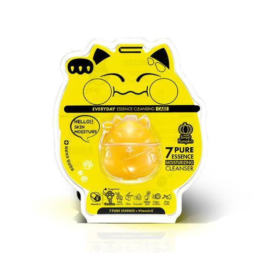 신세계인터넷면세점-에코네코-Cleansers-7퓨어 에센스 모이스처라이징 클렌저 옐로우_싱글캡슐 100g 1p
