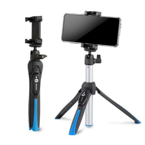 신세계인터넷면세점-벤로-CameraAcc-BK10 II 블랙 블루투스 삼각대 셀카봉(스마트폰,미러리스카메라 호환가능)