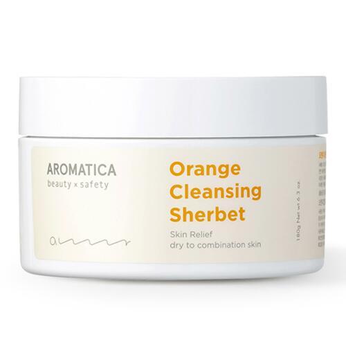 韩际新世界网上免税店-AROMATICA--ORANGE CLEANSING SHERBET 卸妆膏 180g
