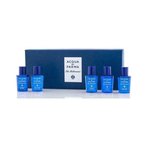 韩际新世界网上免税店-帕尔玛之水--BLU MEDITERRANEO MINIATURE SET 香水迷你套装 5X5ML