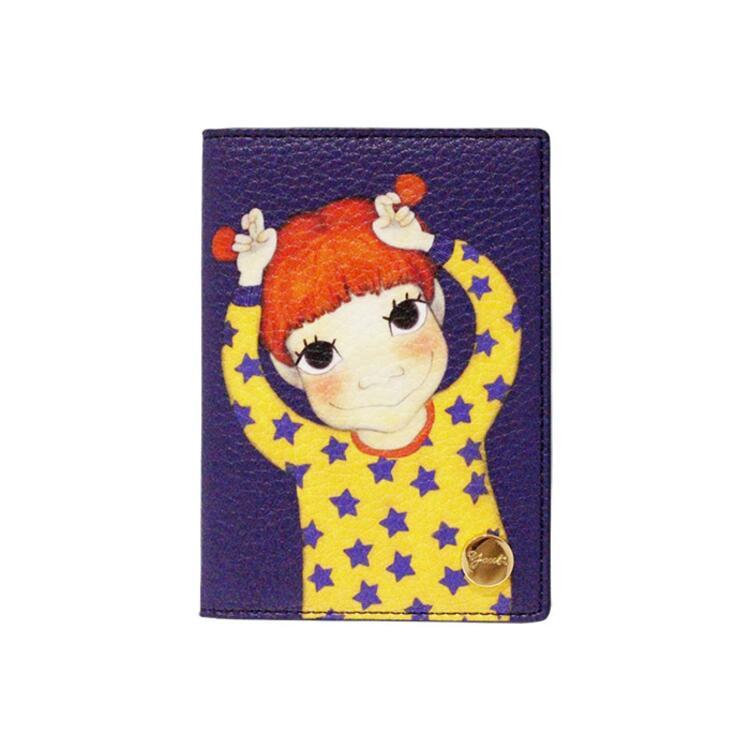 韩际新世界网上免税店-陆心媛-钱包-YOUK LEATHER PASSPORT WALLET GAEDDONG 护照夹