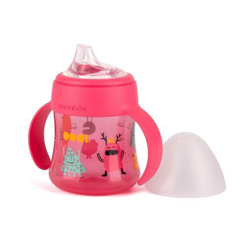 신세계인터넷면세점-스와비넥스-BABY FEEDING-BOO 흘림방지 스파우트컵 150ml 핑크