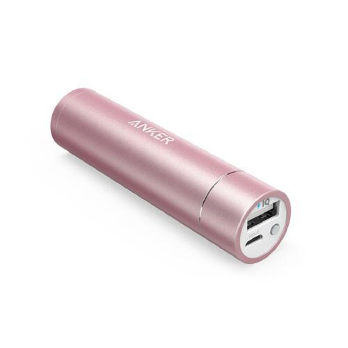 신세계인터넷면세점-앤커-Charger-Cable-앤커 파워코어+3350mAh 휴대용배터리 A1104 핑크