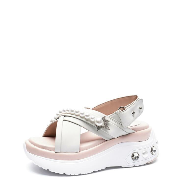 韩际新世界网上免税店-suecommabonnie-鞋-DG2AM21023IVY 350 (225)