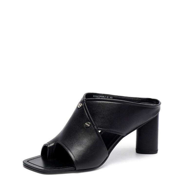 韩际新世界网上免税店-suecommabonnie-鞋-DG2AM21005BLK 365 (235)