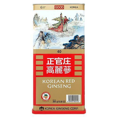 韩际新世界网上免税店-正官庄-GINSENG-良参 40支(300g)