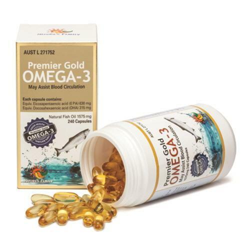 신세계인터넷면세점-네이쳐스 훼밀리-Supplements-Etc-[유통기한22년6월]Premier Gold Omega-3 1575mg 240 caps