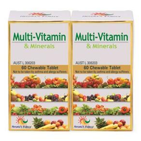 [유통기한2022-03]Multi-Vitamin 950mg 60tabs x 2
