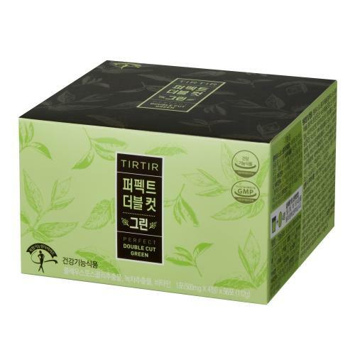 韩际新世界网上免税店-TIRTIR-SUPPLEMENTS ETC-PERFECT DOUBLE CUT GREEN (500mg*4粒)*56包